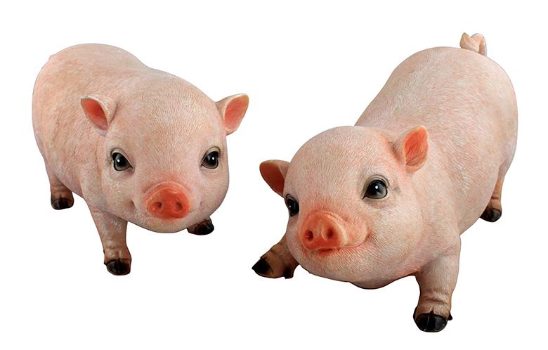 校园文化雕塑-卡通雕塑猪雕塑动物雕塑